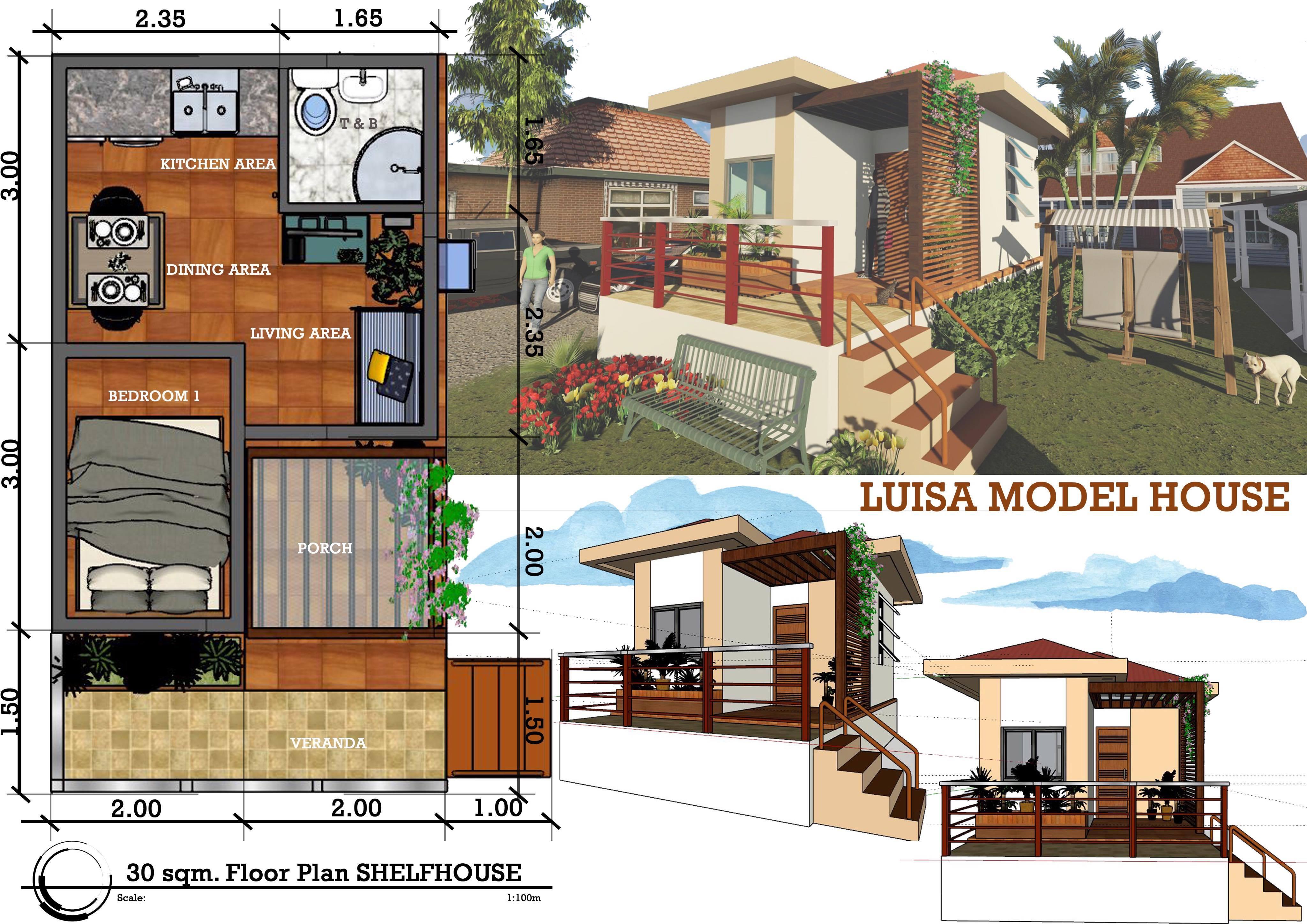 Luisa Model house