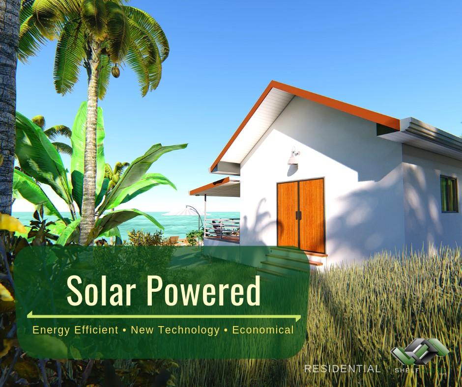 Solar Powered   Shelfhouse